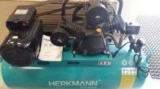 Tepalinis oro kompresorius HERKMANN 3cilindrai / 100L