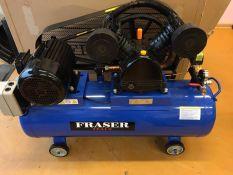 Tepalinis oro kompresorius FRASER 2cilindrai / 120L