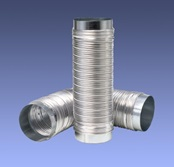 Lankstus aliumininis ortakis su flanšais Drasuten-100-1,0