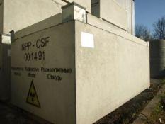 Gelžbetoninis saugojimo konteineris