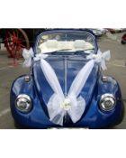 Vestuvinės dekoracijos automobiliams