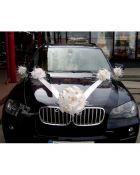 Vestuvinė dekoracija automobiliui Klasika