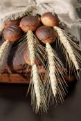 Ruginės duonos gamyba be mielių
