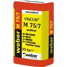 Mišinys mūrinimui M-75/7 (25kg) Weber