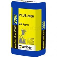 Mišinys (savaime išsilyginantis) FLOOR PLIUS (2000) (25kg) 2-20mm Weber