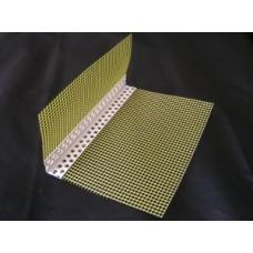 Profilis PVC kampas su tinkleliu 100x150 mm (2,5m) (geltonas)