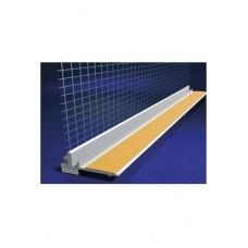 Profilis PVC 108 deformacinis su tinkleliu 6mm (2,4 m)