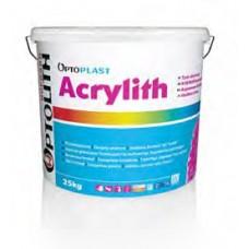 Acrylith akrilinis tinkas 2mm (25 kg) 1B samanėlė