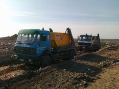 Statybinių atliekų išvežimas