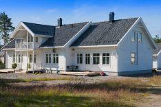 Medinių karkasinių namų statyba