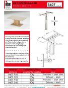 ILSE TECHNIK stalų pakėlimo sistemos