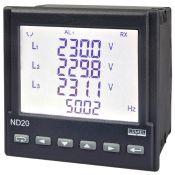 Energetinio tinklo parametrų matuoklis ND20, (Lumel)