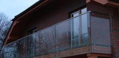 Balkonų turėklai