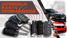 Automobilių raktų programavimas