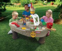 """Smėlio, vandens stalas """"Piratų laivas"""" Little tikes"""