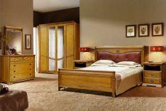 Klasikiniai miegamojo baldai Lika