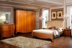 klasikiniai miegamojo baldai Luiza