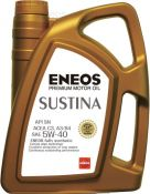 """Aukšto atsparumo """"SUSTINA 5w40"""" universali japoniška 100% sintetinė alyva API SN ACEA C3,A3/B4"""