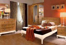 Klasikiniai miegamojo baldai Sonata