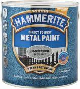 Metalo dažai Hammerite Hammered