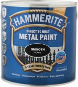 Metalo dažai Hammerite Smooth