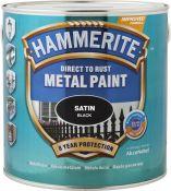 Metalo dažai Hammerite Satin