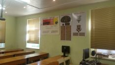 Pilnai įrengtos mokymo klasės