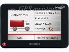 Prestigio 5000 iGO Primo 2015 Sunkvežiminis