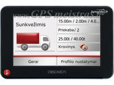 Navigacija sunkiajam transportui su iGO Primo TRUCK 2015