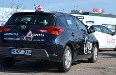 Papildomos vairavimo pamokos (automatine pavarų dėže)