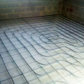 Šildomų grindų įrengimas