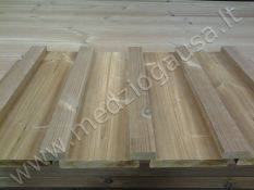 Termo mediena - termo dailylentės, termo terasinės lentos