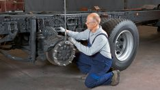 Sunkvežimių važiuoklės remontas