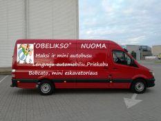 Krovininio mikroautobuso nuoma