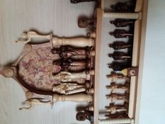 Rankų darbo figūriniai šachmatai