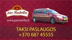 Taksi paslaugos Kaišiadorių, Žiežmarių, Elektrėnų ir aplinkiniuose regionuose!