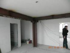 Sienų griovimas, montuojant sąramas