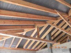 Stogo dengimo darbai, stogo šiltinimas, stogo skardinimas