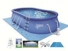 Quick Set Oval Pool Set 609 x 365 x 122 cm