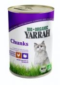 Ekologiški konservai katėms skardinėse