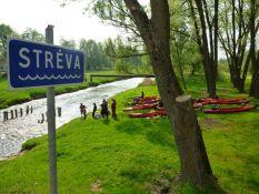 Plaukimas Strėvos upe