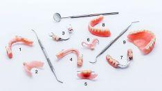 Dantys atkuriami ne tik implantais, bet ir įvairiais nuimamais ir fiksuotais, pilnais ir daliniais dantų protezais