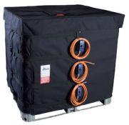 Elektriniai šildytuvai-apvalkalai IBC konteineriams