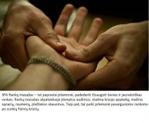 Masažas rankoms
