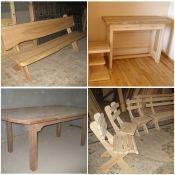 medinių baldų gamyba, prekyba.