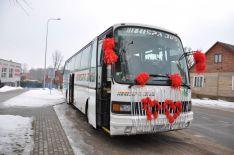 Suteiksime visas transporto paslaugas Jūsų šventei, sporto renginiui, mokyklos išvykai, vestuvėms ir kita.;