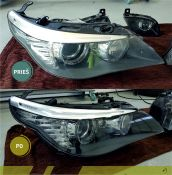 Žibintų atnaujinimas RestorFX Headlight danga