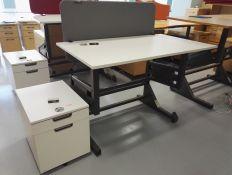 Ergonomiški mechaniniai pakeliami stalai iš Švedijos