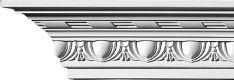 """Juosta kampinė luboms ir sienoms su ornamentu """"Classic Line Decor"""""""