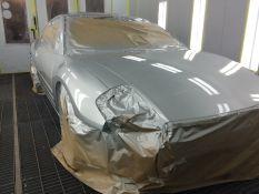 Automobilių paruošimas ir dažymas